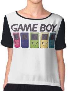 GAMEBOY COLOR Chiffon Top