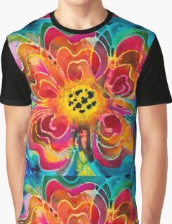 Summer Love Floral Art By Sharon Cummings Graphic T-Shirt