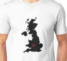 Where my heart lays Unisex T-Shirt