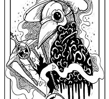 The Plague Doctor (No.1 Of 10) by Paleface