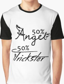 50% Angel - 50%Trickster Graphic T-Shirt