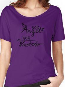 50% Angel - 50%Trickster Women's Relaxed Fit T-Shirt