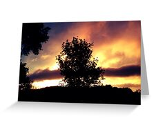 Sky After the Storm Greeting Card
