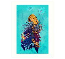 guardian of songbirds Art Print