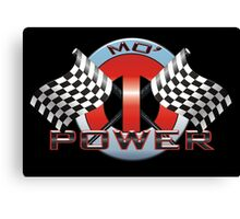 Mo' Power - Red Canvas Print