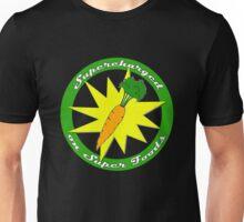 Supercharged Vegan and Vegetarian design (no background) Unisex T-Shirt