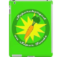 Supercharged Vegan and Vegetarian design (no background) iPad Case/Skin