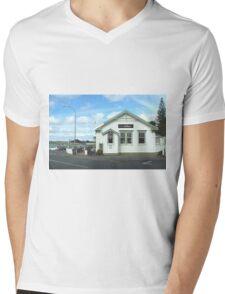 Post Office to restaurant Mens V-Neck T-Shirt