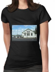 Post Office to restaurant Womens Fitted T-Shirt
