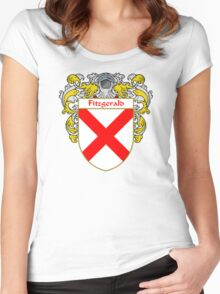 Fitzgerald Coat of Arms/Family Crest Women's Fitted Scoop T-Shirt