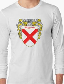 Fitzgerald Coat of Arms/Family Crest Long Sleeve T-Shirt