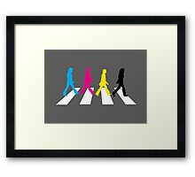 the beagles Framed Print