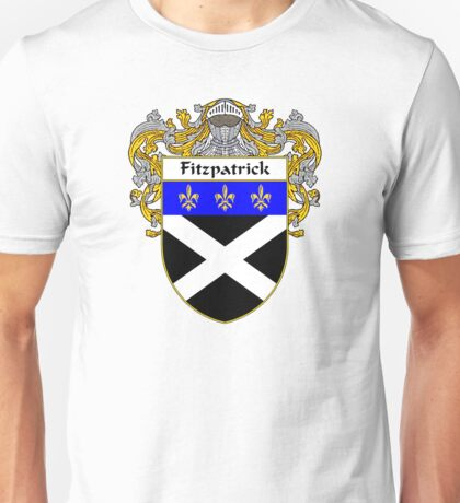 Fitzpatrick Coat of Arms/Family Crest Unisex T-Shirt
