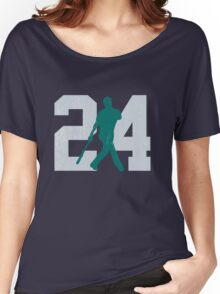 The Kid (Teal & Gray) Women's Relaxed Fit T-Shirt