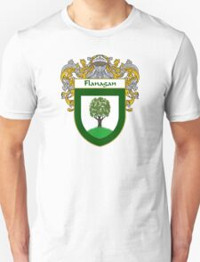 Flanagan Coat of Arms/Family Crest Unisex T-Shirt