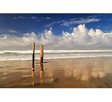 Posts On The Shore Photographic Print