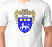 Flynn Coat of Arms/Family Crest Unisex T-Shirt