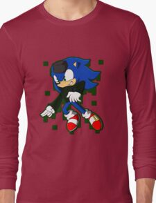 Clever Sonic Long Sleeve T-Shirt