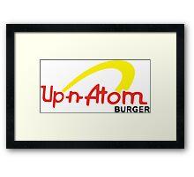 Up-n-Atom Burger - GTA5 Framed Print