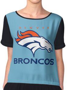 Broncos Champ Chiffon Top