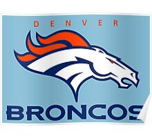 Broncos Champ Poster