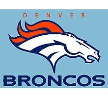 Broncos Champ Photographic Print
