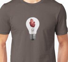 Heart Bulb Unisex T-Shirt