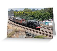 Steam Loco 3016 -East Maitland NSW Greeting Card