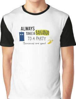 Doctor Who and bananas Graphic T-Shirt