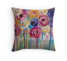 Eden (cropped detail) Throw Pillow