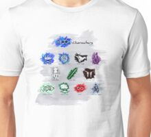 The 100 Characters Part 1 Unisex T-Shirt