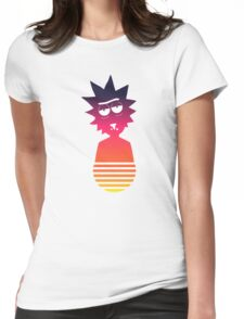 Retro Rick Womens Fitted T-Shirt