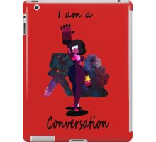 I am a conversation iPad Case/Skin