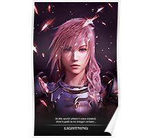 Final Fantasy XIII - Lightning Returns Poster