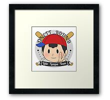 EarthBound Little League Framed Print