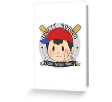 EarthBound Little League Greeting Card