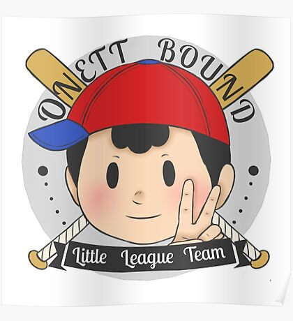 EarthBound Little League Poster