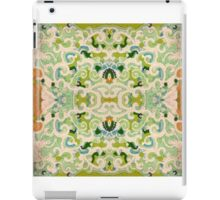 Stabilized Royal Cream Icing on Glass: Earth and Sky iPad Case/Skin