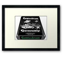 Atari gamma attack  Framed Print
