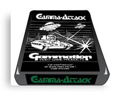 Atari gamma attack  Canvas Print