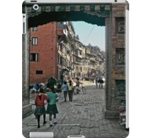 Thamel Gateway Arch iPad Case/Skin