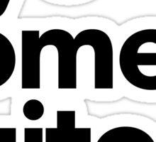 Yo No Me Quito (A) Sticker