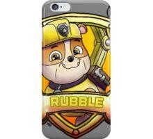 Rubble iPhone Case/Skin