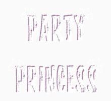 Party Princess (baby pink) Kids Tee