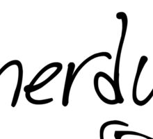 Hello I Am Nerdy Sticker