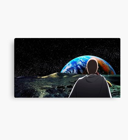 Bang, Zoom! Straight to the Moon! Canvas Print