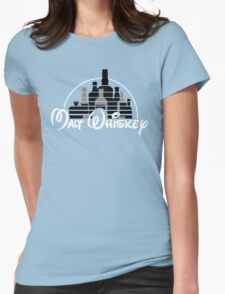 Malt Whiskey  Womens Fitted T-Shirt
