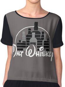 Malt Whiskey  Chiffon Top