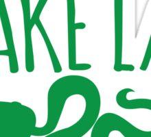 CRAZY Snake lady Sticker