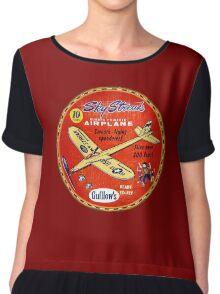 Sky Streak Balsa gliders- Fun Chiffon Top
